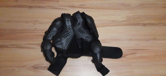 Zbroja buzer ochraniacz na motor rower dla dziecka rozm. S