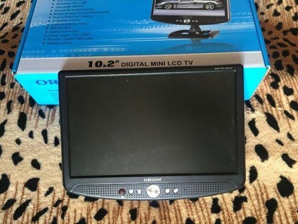 новый портативный мини телевизор Orion PLT 1001 / для авто