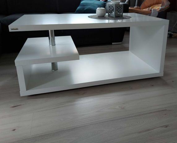 Ława Bolonia Biała 110x65x50