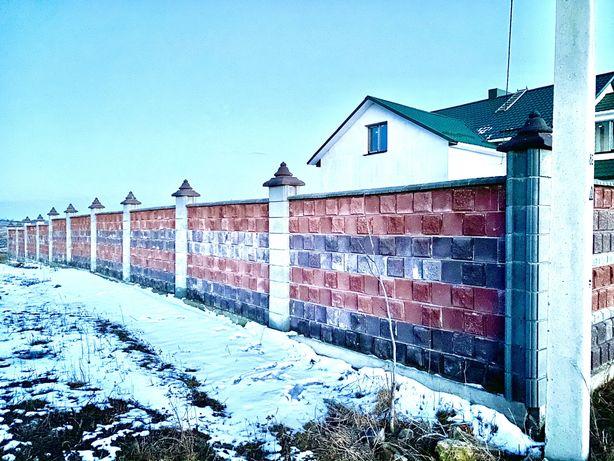 Продам земельну ділянку в Б.Криниці з фундаментом