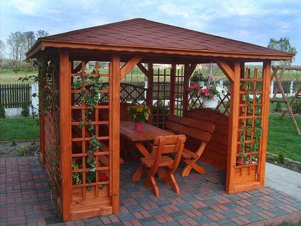 Altana, altanki, altanka ogrodowa drewniana,domek