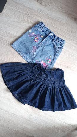Zestaw dwóch spódniczek jeansowych KappAhl 104