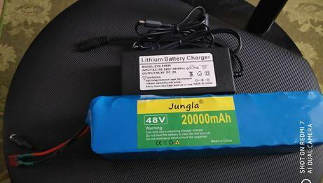 Аккамулятор к электровелосипеду-электромопеду-электросамокату.