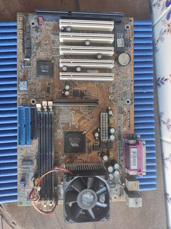 Motherboard e cooler
