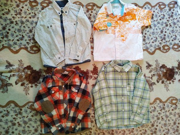 Футболки и рубашки на 3-4 года