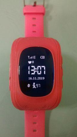 Часы-телефон Smart Baby Watch Q50 c GPS трекером