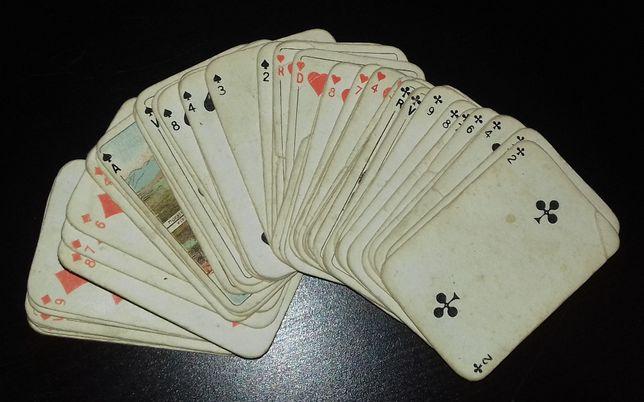 Baralho de cartas miniatura