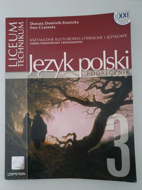 Język polski - podręcznik cz.3, D.Dominik-Stawicka, E.Czarnota
