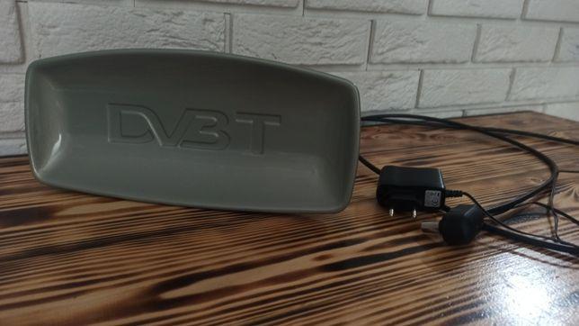 Anteny DVB-T, TV naziemna ze wzmacniaczem.