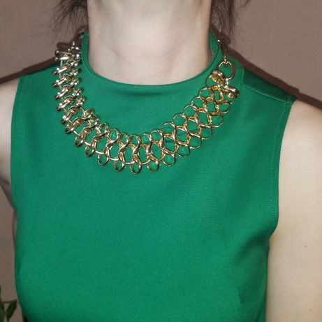 Бижутерия. Цепь. Цепи. Ланцюжок. Ожерелье. Имитация золота.