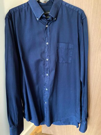 Camisa Azul - Massimo Dutti Tamanho L