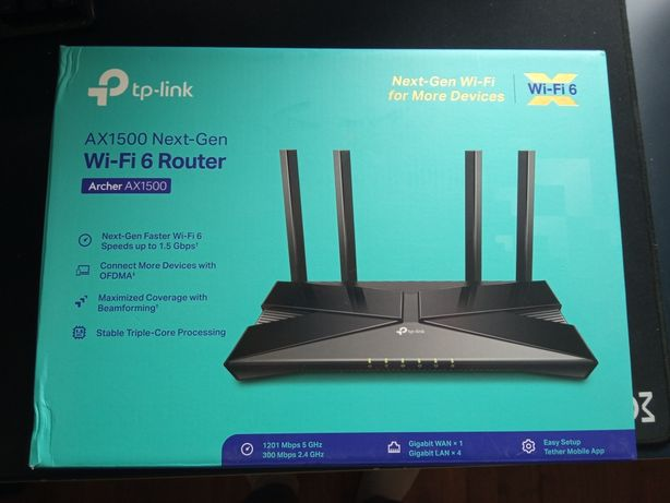 TP-link AX 1500 router
