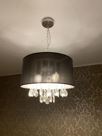 Żyrandol LED styl glamour E14 - żarówki gratis