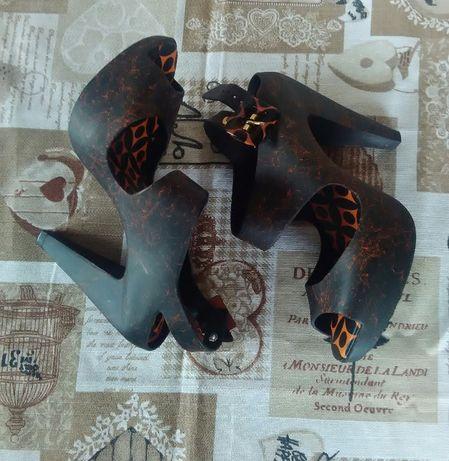босоножки туфли MELISSA amazonista 37 р 23.5 см оригинал под платье