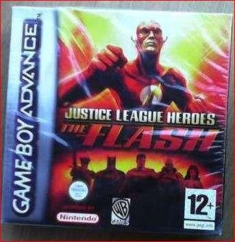 jogo The Flash Game Boy Advance novo selado