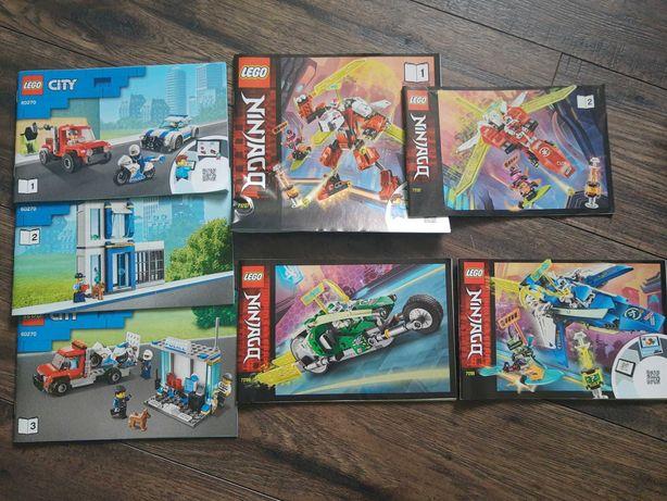 Klocki LEGO. 60270, 71709, 71707. TANIO Lego city, Ninjago OKAZJA