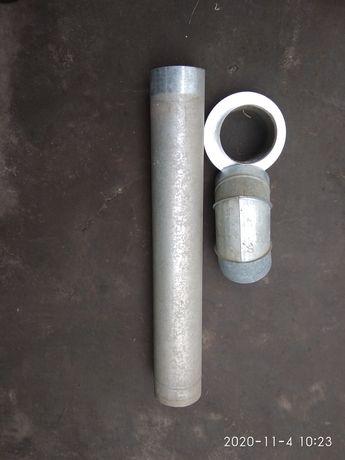 Труба для витяжки газ колонки.