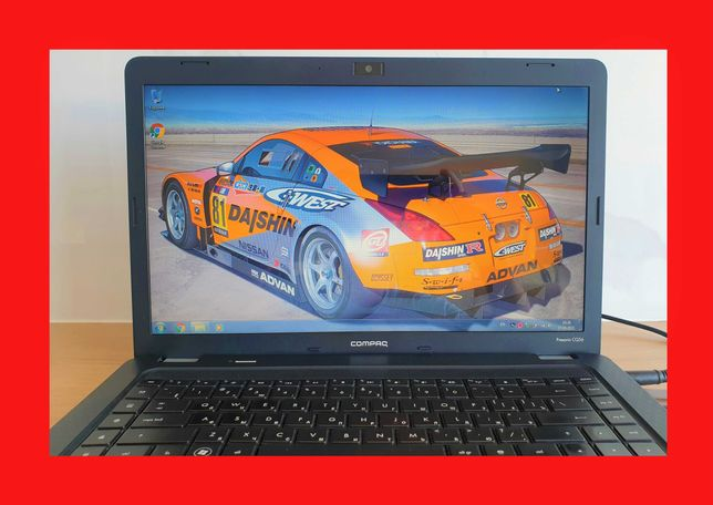 "15.6"" Надежный 2-х ЯДЕРНЫЙ ноутбук. HP CQ56  Intel Для дома/работы."
