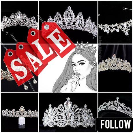 БЕСПЛАТНАЯ доставка корона диадема тиара украшение прикраса діадема