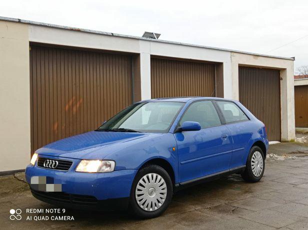 Audi A3 1.6 8v Benzyna, ŚLICZNA! Bez Rdzy, Nowy Przegląd, Bez Wkładu!