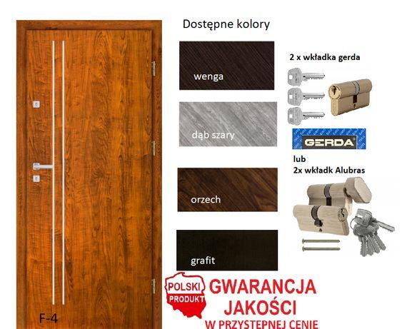 Drzwi wewnątrz-klatkowe z montażem pełne wyposażenie w cenie