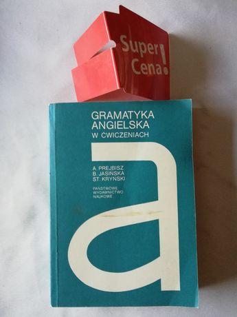 """książka """"gramatyka angielska w ćwiczeniach"""" A. Prejbisz, B. Jasińska"""