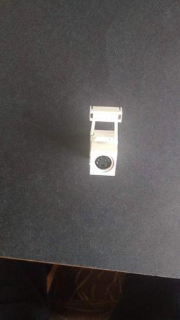 Złącze S-Video 110-terminacja QuickPort, biała obudowa