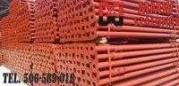 Promocja! Stemple 3,60m budowlane WŁOSKIE Sztyce Podpory Szalunki