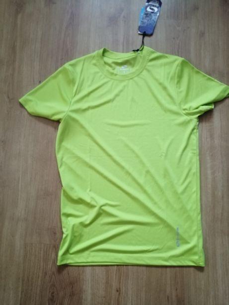Koszulka(T-shirt) zielony w rozmiarze L w wersji slim NOWY! Jest metka