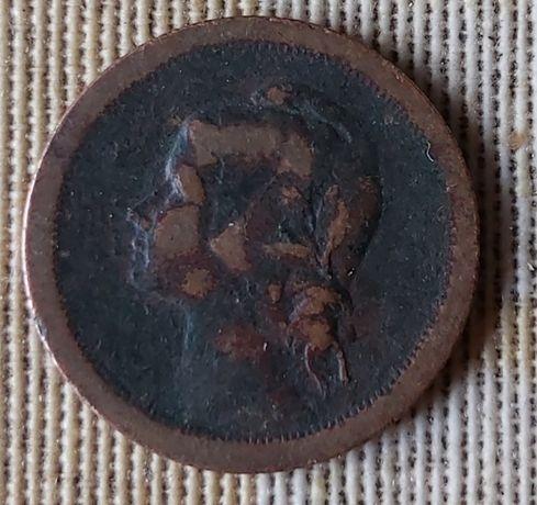 Moeda de 20 centavos de 1924 em bronze