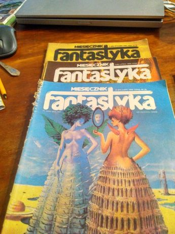 Czasopismo fantastyka 1986 r