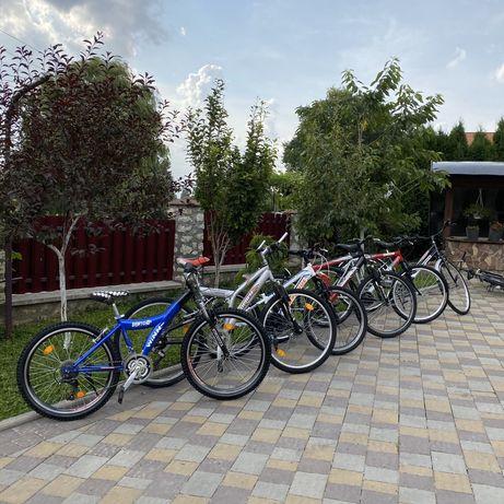 Розпродаж!!! По 2200грн!!!З Німеччини велосипед горний дамка 26 24 28