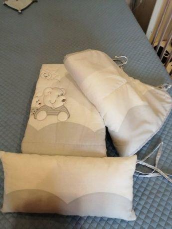 Edredão/colcha para cama de grades