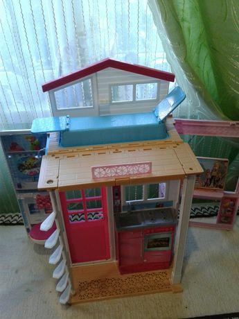 Игровой набор , домик для кукол, складной домик, маттел, mettel, дом