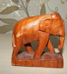 статуэтка сувенир фигурка слон дерево ручная работа тайланд handmade
