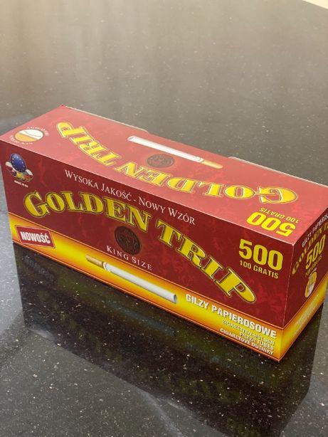 GOLDEN TRIP 500 1 ЯЩ Гильзы для сигарет,для табака, сигаретные гильзы