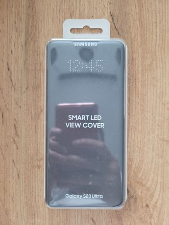 Etui Smart Led View Cover do Samsung S20 Ultra Szare EF-NG988PJEGEU