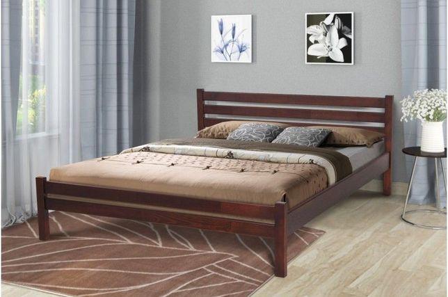 Двухспальная Деревянная Кровать 1,6 Эко Микс + Матрас на Выбор!