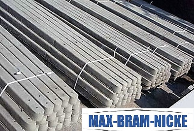 Słupek betonowy słupki betonowe do siatki wys. 2 m