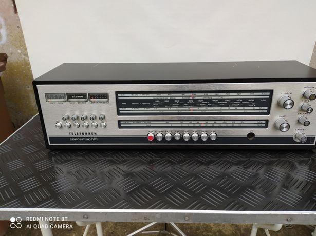 Stare Radio Vintage telefunken concertino 201