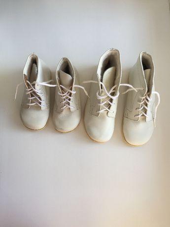 Ботинки, зима, кожа, шерсть