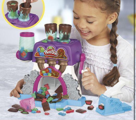 Play doh конфетная фабрика