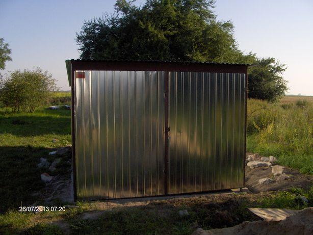Garaz 3 m x 6 m blacha ocynkowana