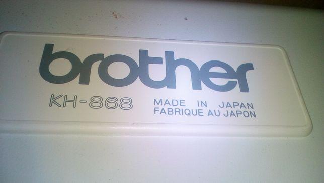 Вязальная машина Brother kh 868/kr 850 новая