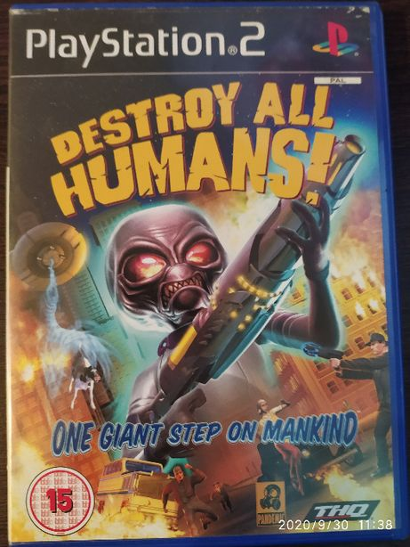 Destroy all humans PS2