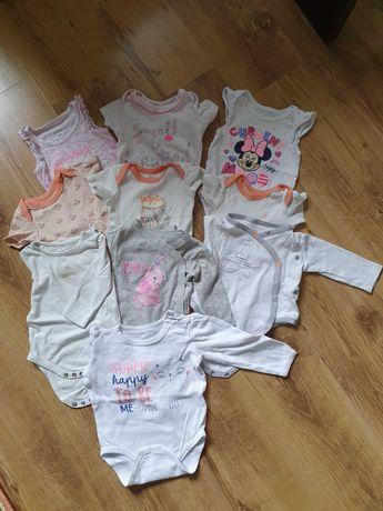 Wyprawka dla córeczki od 0 do 6 miesięcy od 56 do 68 cm
