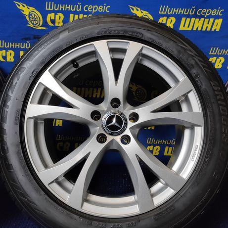 Диски 5x112 R18 Mercedes W221 W222 W447 W211 W639 з шинами Bridgestone
