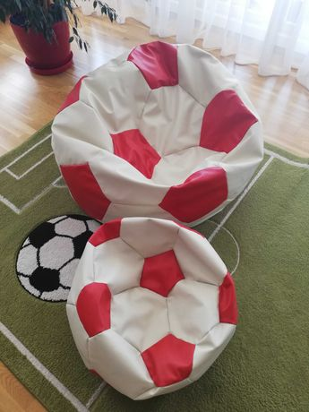 Pufa siedzisko Piłka nożna komplet