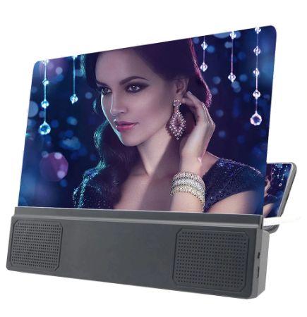 Подставка-увеличитель экрана телефона с bluetooth колонками Seuno L5