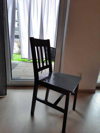 Krzesła Ikea pomalowane na szaro - 25zł/szt
